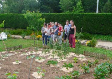 Le jardin collectif du foyer des trois vallées