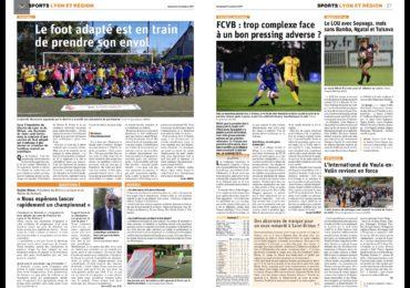 Journée départementale de football adapté à Givors
