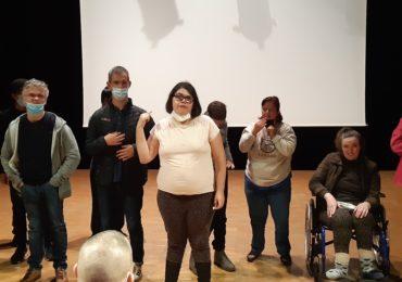 Activité théâtre en collaboration avec des résidents du foyer Bel Air